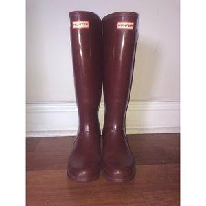 The Original Hunter Tall Rain Boot + Fleece Insert